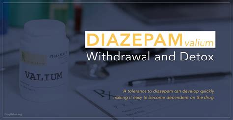 Valium Dosage For Detox by Diazepam Valium Withdrawal And Detox