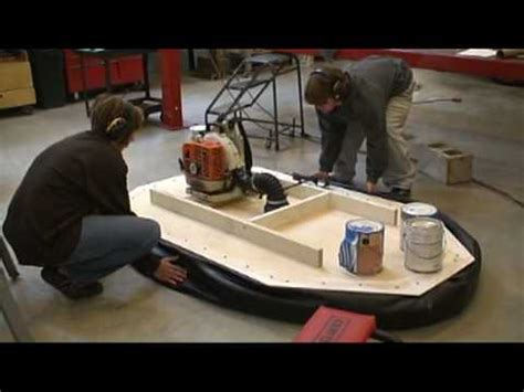diy hovercraft science fair project hovercraft project part 1
