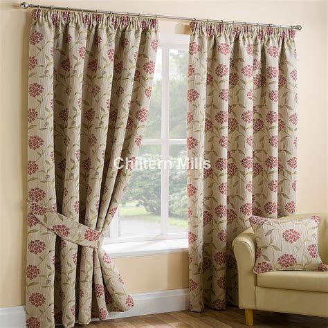 red pencil pleat curtains panama red pencil pleat curtains chiltern mills