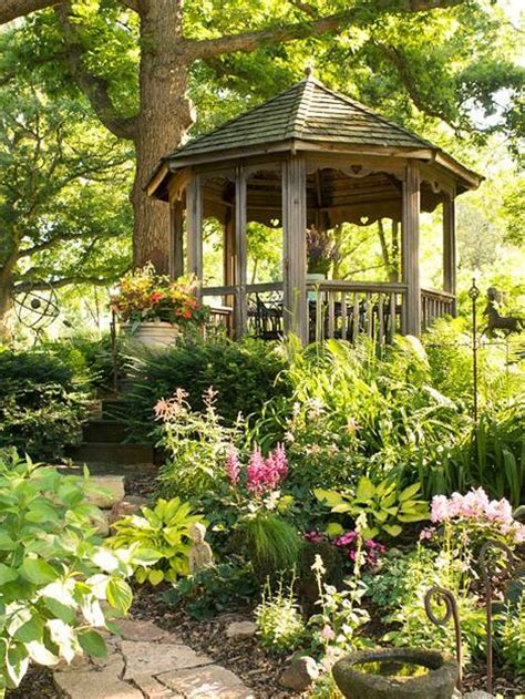 landscaping around a gazebo dunster house blog