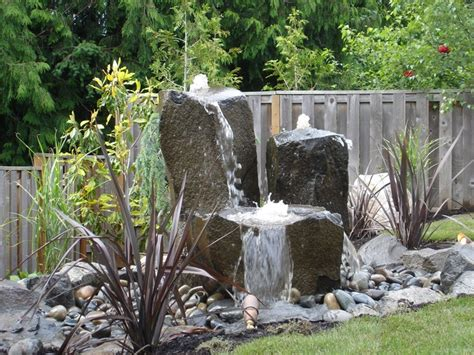 Rock Garden With Water Feature Best 10 Rock Ideas On Pinterest