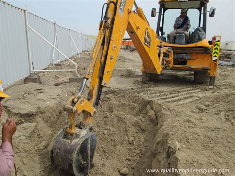 excavation quality assurance and quality in construction
