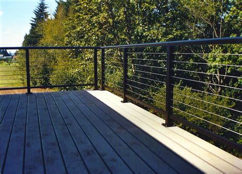 Stainless Steel Deck Railing Galvanized Steel Deck Railing Doherty House Stainless