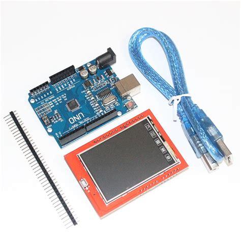 Lcd Display Tft Touch Screen 2 4 Inch For Arduino Uno Ai22 unor3 uno r3 mega328p development board 2 4 inch tft touch lcd screen module display screen