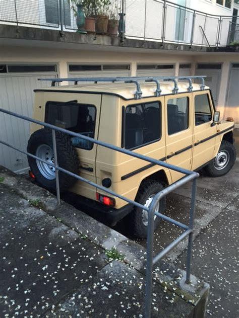 Auto Dachträger by Mein G Umbau Als Cer 300gd W460 333 Viermalvier De