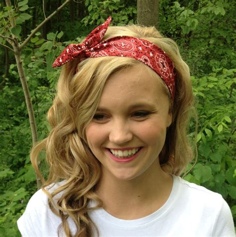 rosie wired headband in bandana print by urbanrustsupply