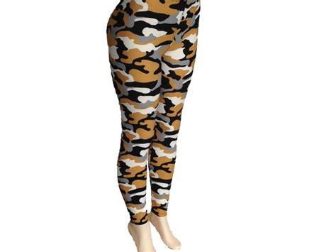 camo pattern leggings black gold camouflage pattern leggings bh27677bkg