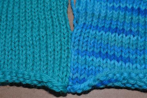 Mattress Stitch by How To Seam Stockinette Stitch With The Mattress Stitch