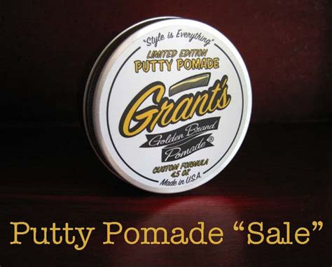 Pomade Banditos Original Usa Limited pomade sale only 50 putty pomades left in stock grant