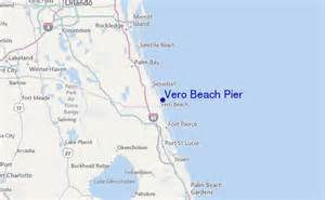 map of vero florida vero pier surf forecast and surf reports florida