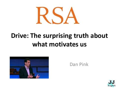 drive the surprising truth what really motivates us summary and conversation lesson