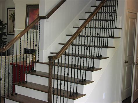 Wrought Iron Stair Balusters 8742 Kempwood Houston 77080 Home Value Har Stairs