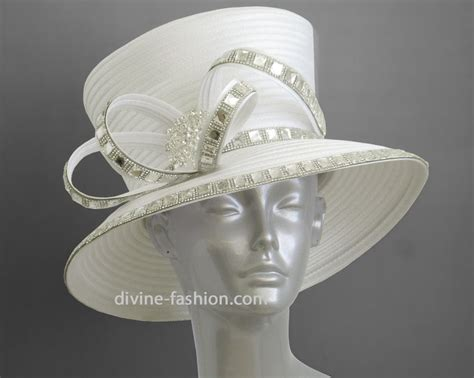 s dressy church hat dress hats ivory white 1138