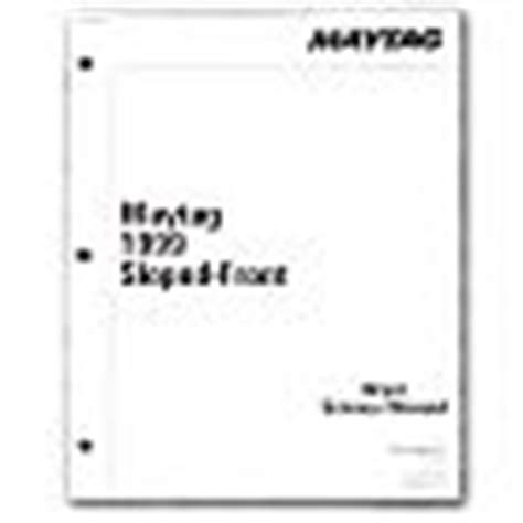 maytag se1000 stacked washer dryer electrical wiring free appliance411 home service appliance repair manual for whirlpool kenmore maytag ge general
