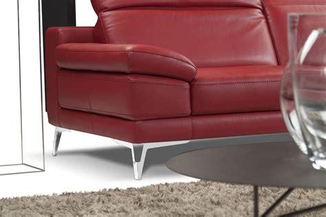 divano pelle rossa divano in pelle rossa idfdesign