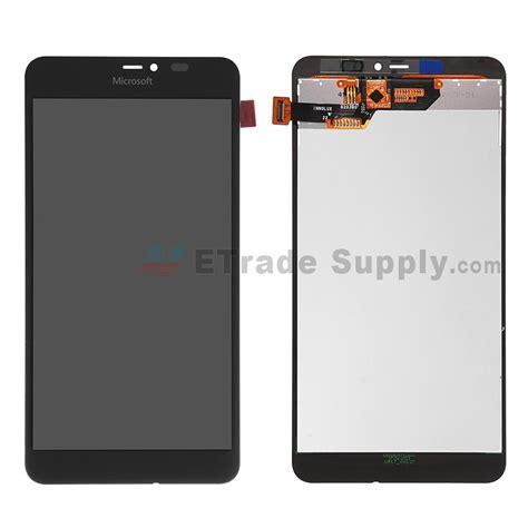 Microsoft Lumia 640 Xl Dual microsoft lumia 640 xl lte dual sim lcd and digitizer assembly black etrade supply