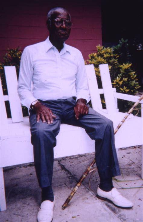 florida memory reverend leroy cobb sr   bench