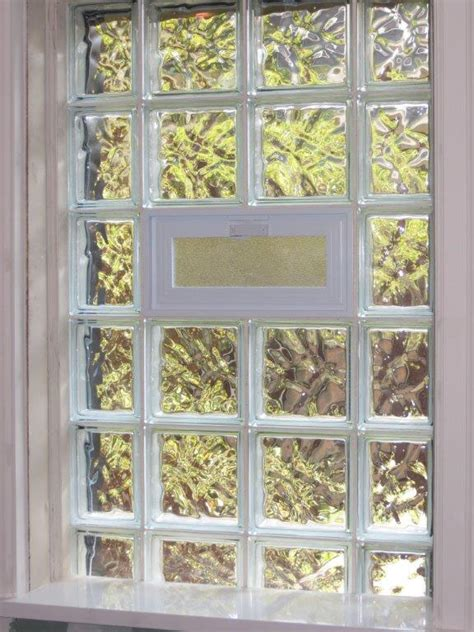 bathroom window glass block glass block windows bathroom windows in st louis