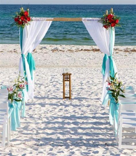 Beach Wedding Bamboo Arbor Arch Chuppah Altar ,   Without