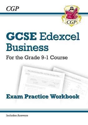 new grade 9 1 edexcel 178294687x new gcse business edexcel exam practice workbook for the grade 9 1 course cgp books cgp