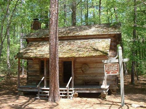 pioneer log cabin at callaway gardens relocated