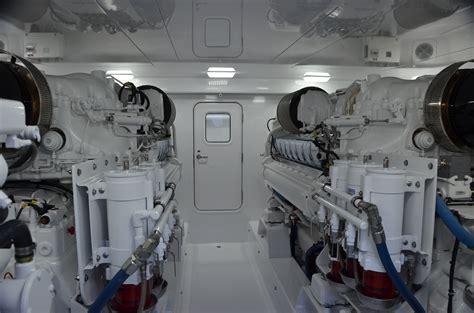 engine room sea trials captain ken kreisler s boat and yacht report