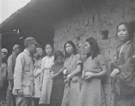ww2 comfort women comfort women rare footage of korean victims of japan s
