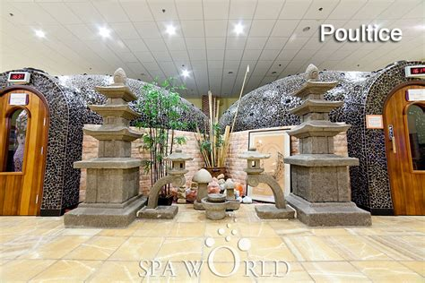poultice room welcome to spa world