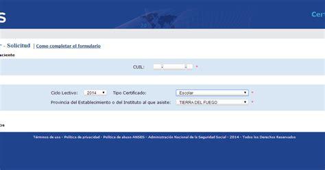 ayuda escolar anses plazo presentacion certificados anses habilit 243 una aplicaci 243 n para presentar el