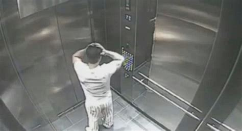 elevator death cctv shows alleged killer who threw his fianc 233 e to her