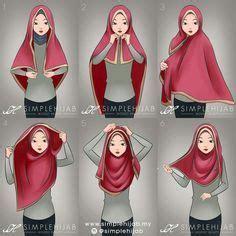 Abaya Medina Bonus Pasmina square tutorial most useful with a wide square or a wide shawl hijabs