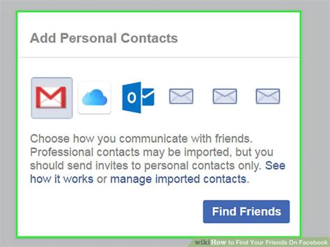 3 ways to find your friends on facebook wikihow