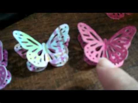 How To Make A 3d Paper Butterfly - 17 best images about paper craft punch on