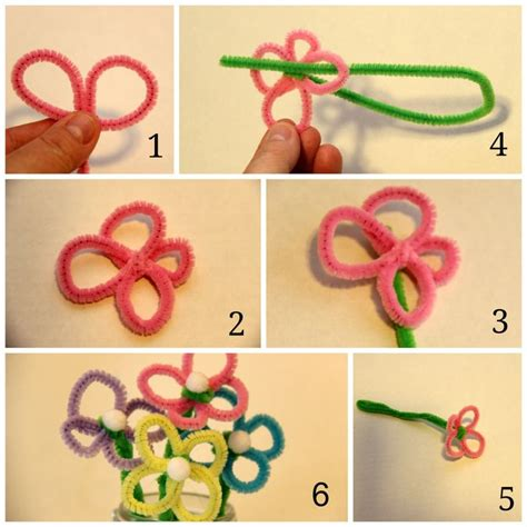 crafts for with pipe cleaners 17 best ideas about pipe cleaner flowers on