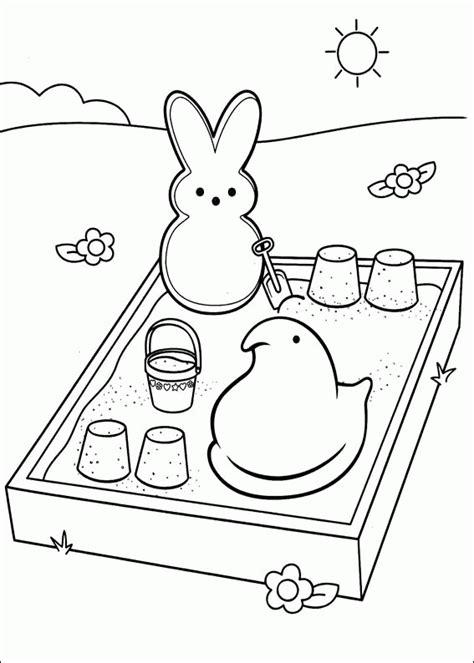 marshmallow peeps coloring pages coloringpagesabc com