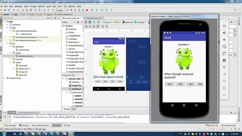 android studio layout youtube android studio lesson 10 1 how to start linear and