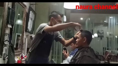 barbershop gaya model rambut tintin youtube