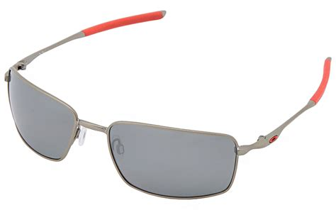 New Frame Kacamata Oakley Wiretap Silver Model 201 Limited new oakley square wire polarized sunglasses light silver black iridium ebay