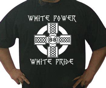 tshirt skinhead power white t shirts jokes tightrope records tightrope