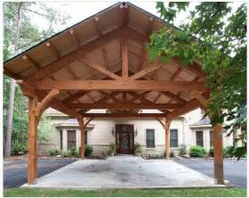 Wall Trellis Kit Carport Timber Frame Style Post And Beam Ideas