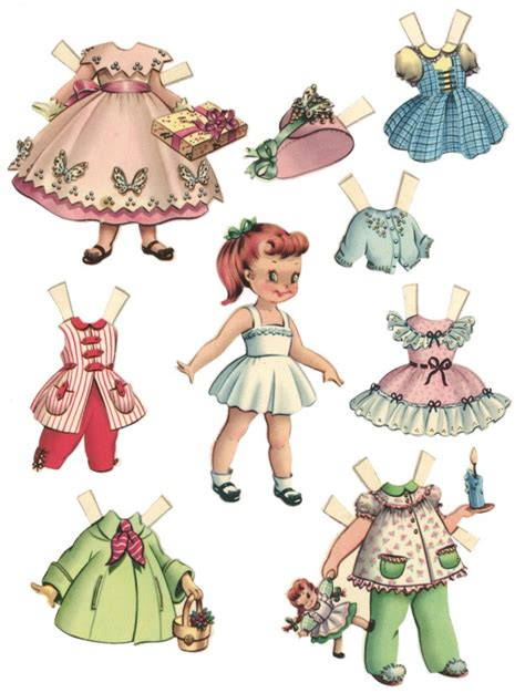 Paper Doll For - 10 free printable paper dolls