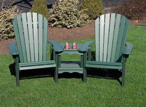 adirondack settee patios in bloom polywood outdoor furniture