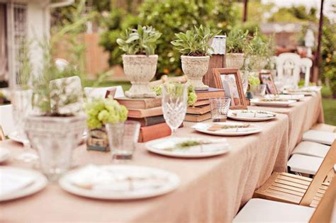 bridal shower dinner table 39 outdoor bridal shower party ideas table decorating ideas