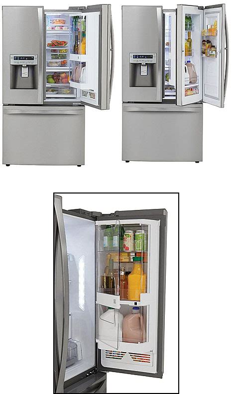 air tight door design door in door refrigerator design yea or nay core77
