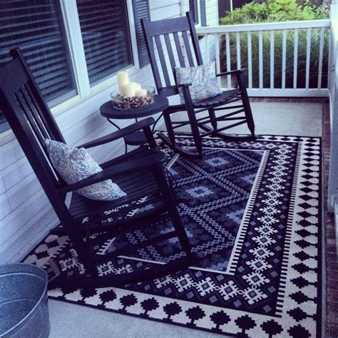front porch rugs tribal rug front porch style zulily find backyard patio and deck porches