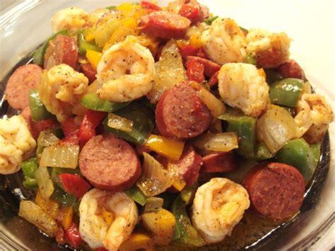 turkey recipe with sausage shrimp and turkey sausage stir fry recipe food