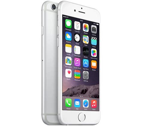 Iphone 6 16gb Silver buy apple iphone 6 16 gb silver free delivery currys