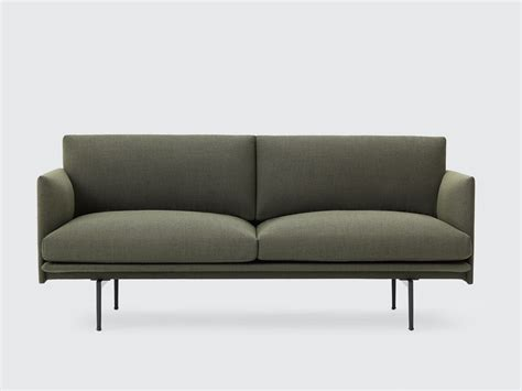 muuto sofa buy the muuto outline two seater sofa at nest co uk