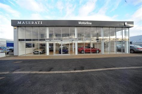 maserati dealership motorline opens refurbished maserati dealership in cardiff
