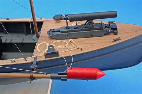 model boat guns gun torpedo gallery of completed kit built ship models
